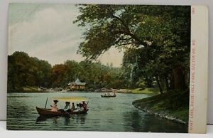 Baltimore-Md-Boat-Lake-Druid-Hill-Park-c1907-UDB-Postcard-C19
