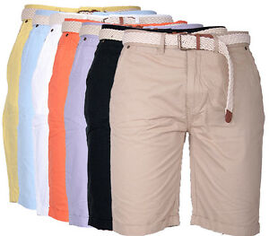 Geographical-Norway-Herren-Chino-Short-kurze-Hose-Bermuda-Knielang-Shorts-Cargo
