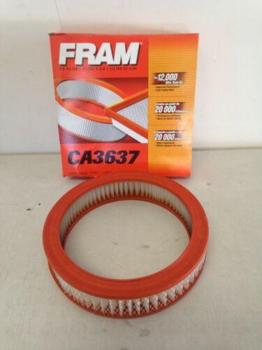 Fram CA3637 Air Filter fits FA1000 FA1001 AF728 PA2114 A43357 46048 6048 VA3357