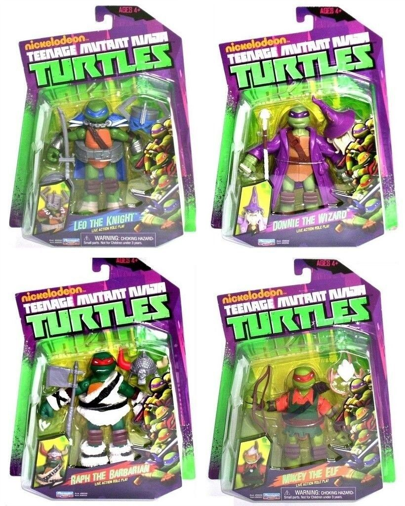 Teenage mutant ninja turtles ritter zauberer barbar elf 4 zahl larp hat leo