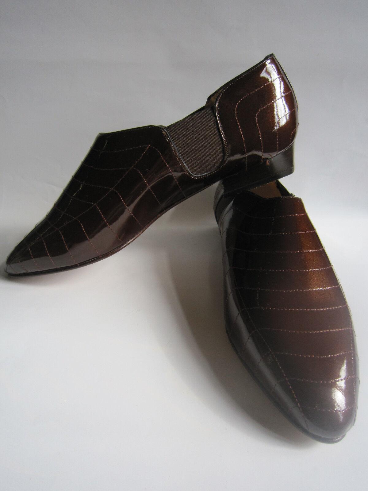 Italian designer Leder schuhe, Größe Größe Größe 37,5, UK5. New, unworn cond. Beautiful. b54e7d