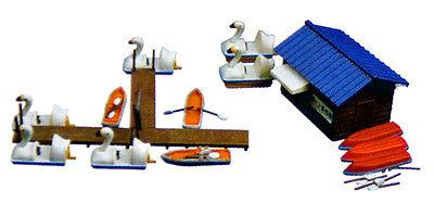 Tomytec (Komono 080-2) Boat Set B (Boat Slip Set) 1/150 N scale