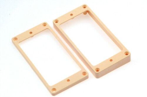 Plastic Humbucker Mounting Rings Creme//Ivory Set of 2 fits Gibson®  Guitars