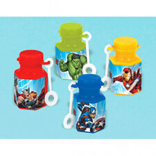 AVENGERS Epic MINI BUBBLES (12) ~ Birthday Party Supplies Favors Toys Iron Man