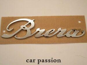 SCRITTA-STEMMA-ALFA-ROMEO-BRERA-ORIGINALE-POSTERIORE-logo-emblem-sign-schriftzug