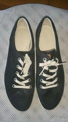 Ecco Herrenschuhe Schuhe Schwarz Sneaker Gr.43 UK 9 NEU   eBay