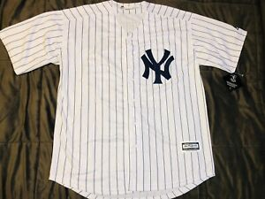 reputable site 56d16 4bf51 Details about Men's 2019 New York Yankees Aaron Judge White Home Player  Jersey, XL