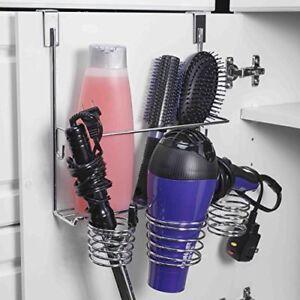 Enjoyable Details About Over The Cabinet Blow Hair Dryer Holder Curling Iron Storage Organizer Hanger Interior Design Ideas Ghosoteloinfo