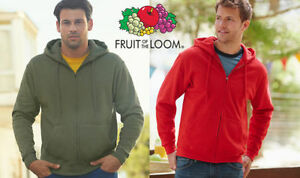 sudadera-con-capucha-zip-clasico-FRUIT-OF-THE-LOOM-HOMBRE-manga-Algodon