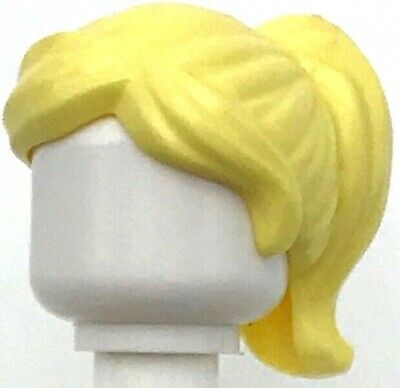 LEGO 30 NEW UNIQUE FEMALE AND MALE MINIFIGURE HAIR WIGS BROWN BLONDE RED MORE