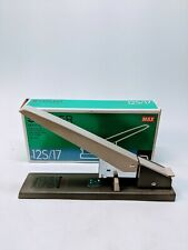 Max Hd 12s17 Heavy Duty Stapler 160 Sheet Capacity Bookbinding Industrial