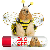 Cocker Spaniel Dog Bug Off Butter All Natural, Handcrafted Bug Balm Tins & Tubes