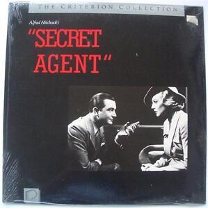 ALFRED-HITCHCOCK-Secret-Agent-NEW-SEALED-CRITERION-COLLECTION-Laser-Disc
