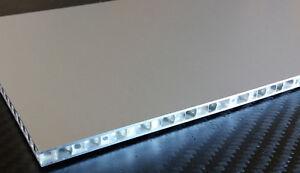 wabenplatten aluminium honeycomb platte zuschnitt ca 300 x 160 x 6 3 mm ebay. Black Bedroom Furniture Sets. Home Design Ideas