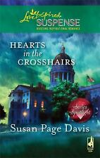 Hearts in the Crosshairs (Steeple Hill Love Inspired Suspense)-ExLibrary