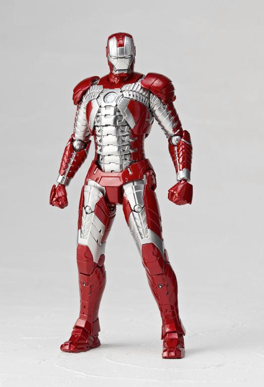 KAIYODO SCI-FI Revoltech serie No.041 - Iron Man Mark V
