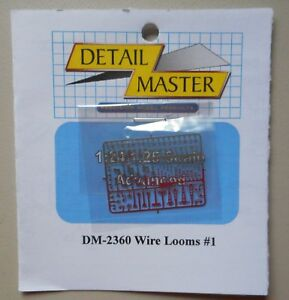 Ignition-Wire-Looms-1-24-1-25-DETAIL-MASTER-CAR-MODEL-ACCESSORY-2360