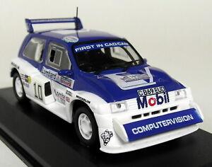 Altaya échelle 1/43 - Mg Metro 6r4 T. Pond Rac Rally 1985 Diecast Voiture Modèle-afficher Le Titre D'origine