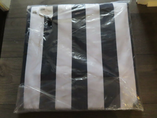 Pottery Barn Kids Navy Stripe Adult Beach Lounger New In