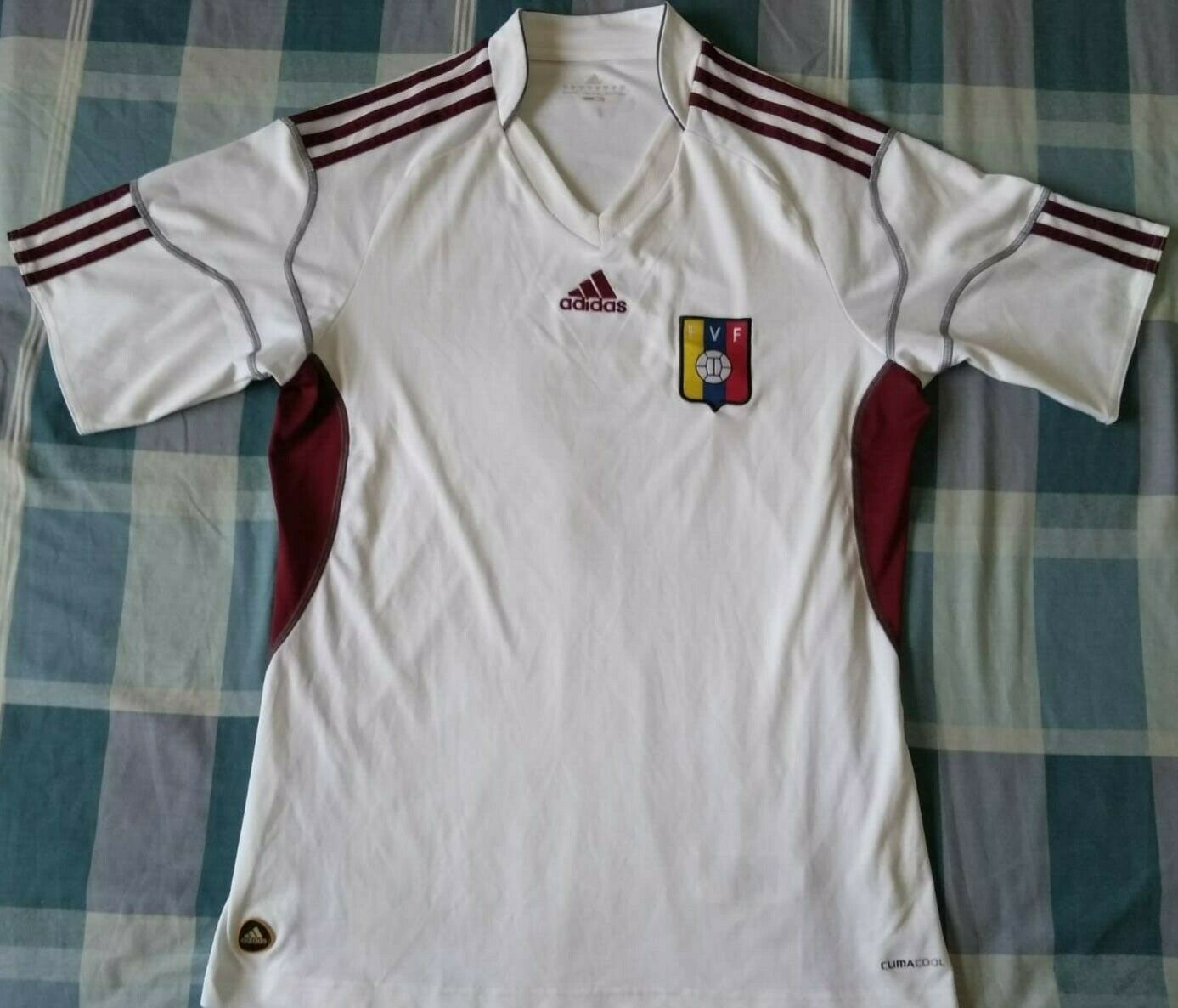 Camiseta Trikot Shirt VENEZUELA Adidas away Season 2012 Diuominiione M Vintage
