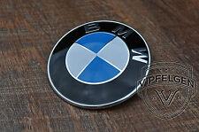orig BMW 1er E81 E82 E87 E88 Emblem Plakette 82mm Motorhaube Heckklappe 8132375