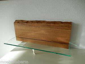 glasregal wandboard eiche massiv holz board regal glas. Black Bedroom Furniture Sets. Home Design Ideas