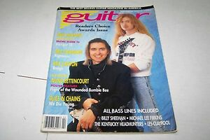 FEB-1992-GUITAR-vintage-music-magazine-DAVE-MUSTAINE-MEGADETH