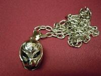 Brand Wwe Wrestling Rey Mysterio 3-d mask Pendant Necklace