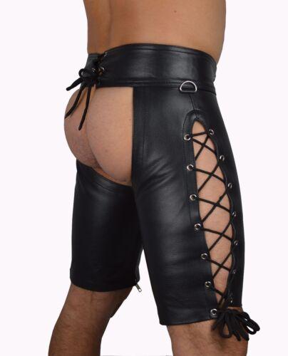 775 Hochwertige zum Schnürn lederchaps,lederhose,leather trousers,leather chaps