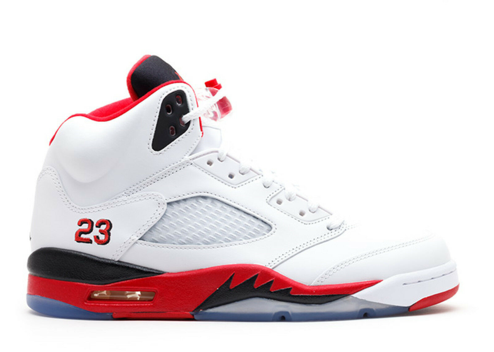 "Nike Air Jordan 5 Retro ""Fire Red"" 2013 Style Size 9.5"