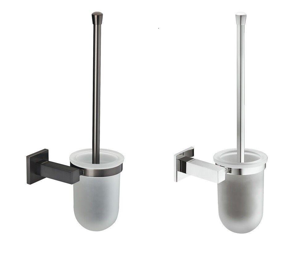 Häfele Diseño Cepillo de Baño, de Toilette InodGold Escobillero Montaje Parot
