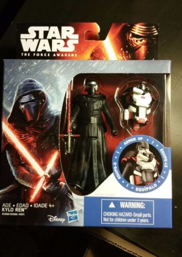 """Star Wars Force Awakens 3.75/"""" Armor Up KYLO REN Action Figure"""