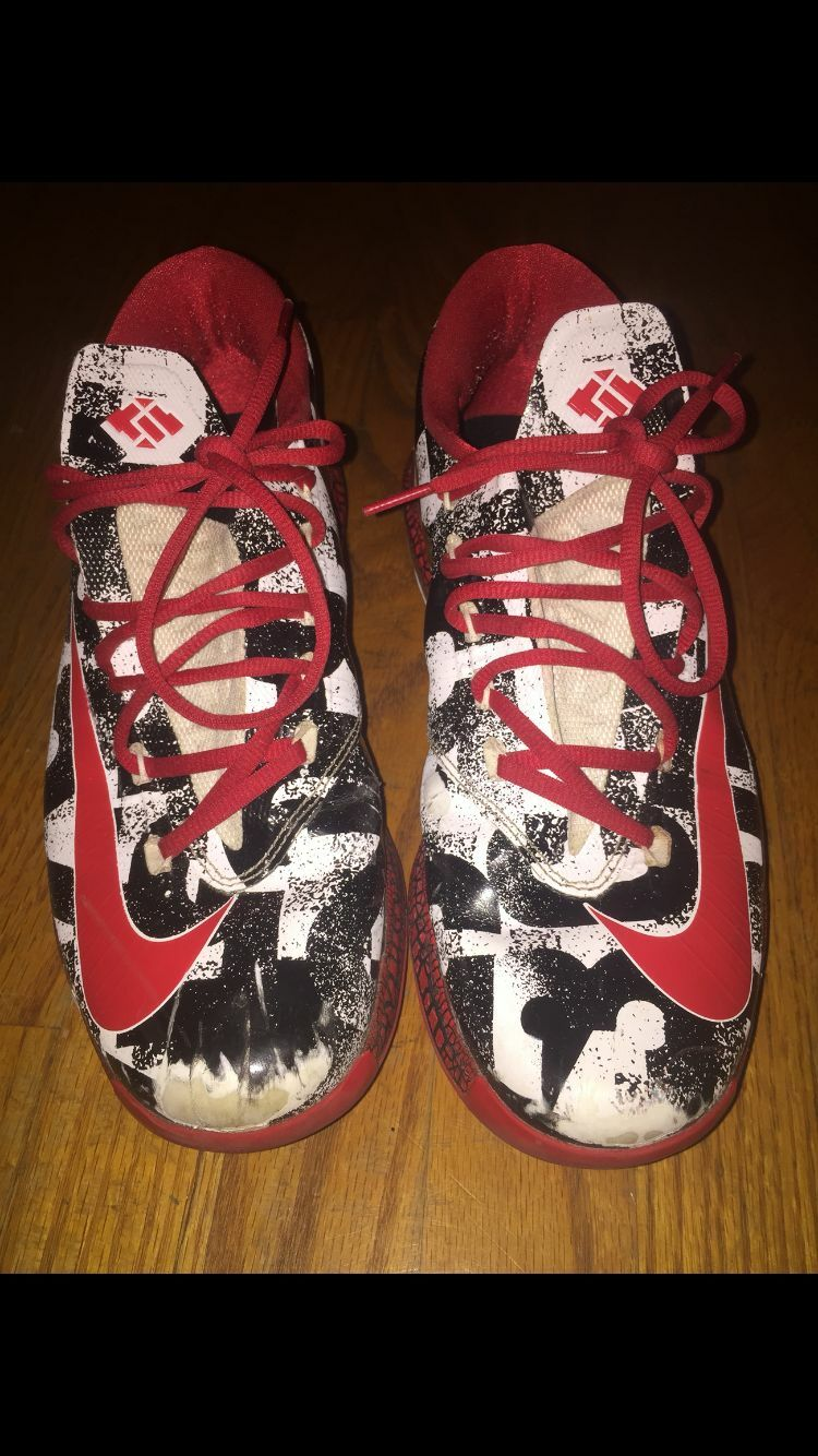Nike Kevin Durant 6 ID Size 10.5 ( St Johns shoes) University team shoes) Johns fbe9db