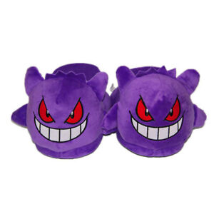 6a7ae2e15439 Image is loading Pokemon-Gengar-Haunter-Soft-Plush-Stuffed-Slipper-Bedroom-