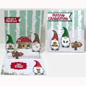 stirbt-klaren-stempel-praegung-schablonen-scrapbooking-weihnachts-zwerg