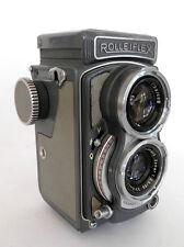 Superba ROLLEIFLEX BABY GREY 4 x 4cm 127 Film TLR Tessar:: GRATIS UK::