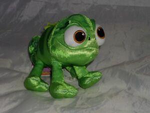Disney-Tangled-The-Series-Pascal-Mini-Bean-Bag-soft-toy-Rapunzel-chameleon-NEW
