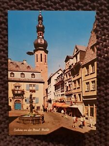 Cochem-Germany-Vintage-Postcard