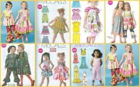 Ooak Boutique Style Clothes Outfits Mccalls Sewing Pattern Childs Girls Toddler