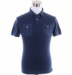 Tommy-Hilfiger-Men-Short-Sleeve-Solid-Custom-Fit-Polo-Shirt-Free-0-Shipping