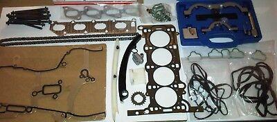 Ford Transit MK7 2.2 TDCi 2006-14 FWD Timing Chain Kit Joint de culasse Set /& Bolts
