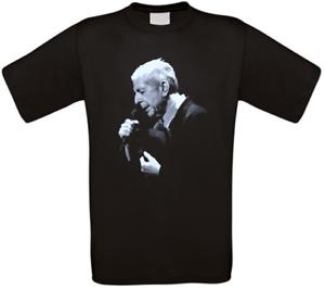 Leonard Cohen Musik Kult T-Shirt alle Größen NEU