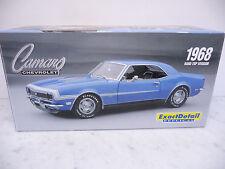 Lane Exact Detail 221C 1:18 Chevrolet Camaro SS Hardtop 1968 blau TOP in OVP
