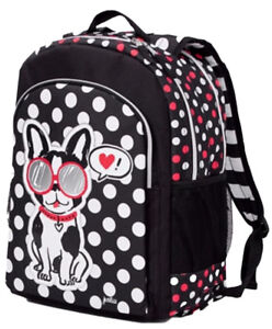 Image Is Loading Nwt Justice Pawsitivity Puppy Dog 2 Sided Backpack