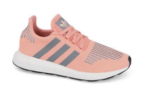 cd4af27ca Adidas SWIFT RUN Trace Pink Grey Three Crystal White CG4139 (431 ...