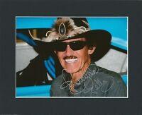 RICHARD PETTY NASCAR DISNEY CARS HAND SIGNED MOUNTED AUTOGRAPH PHOTO 10X8 & COA