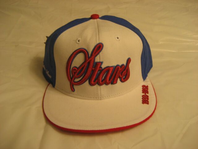 Philadelphia Stars Negro League Fitted Baseball Hat White/Blue