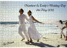 Personalised Jigsaw Puzzle Add you own Photo and Message FREE - Lovely GIFT A3