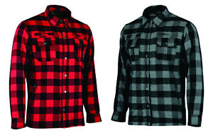 CE-Armoured-Motorbike-Motorcycle-Shirt-Check-Lumberjack-Reinforced-All-Sizes