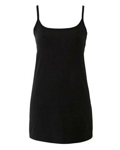 Size 20 Simply Be Black Stretch Camisole